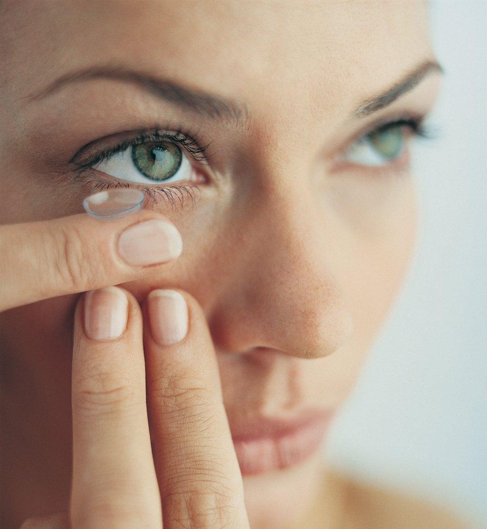 Lentilles de contact, pour jouir d'une bonne vue