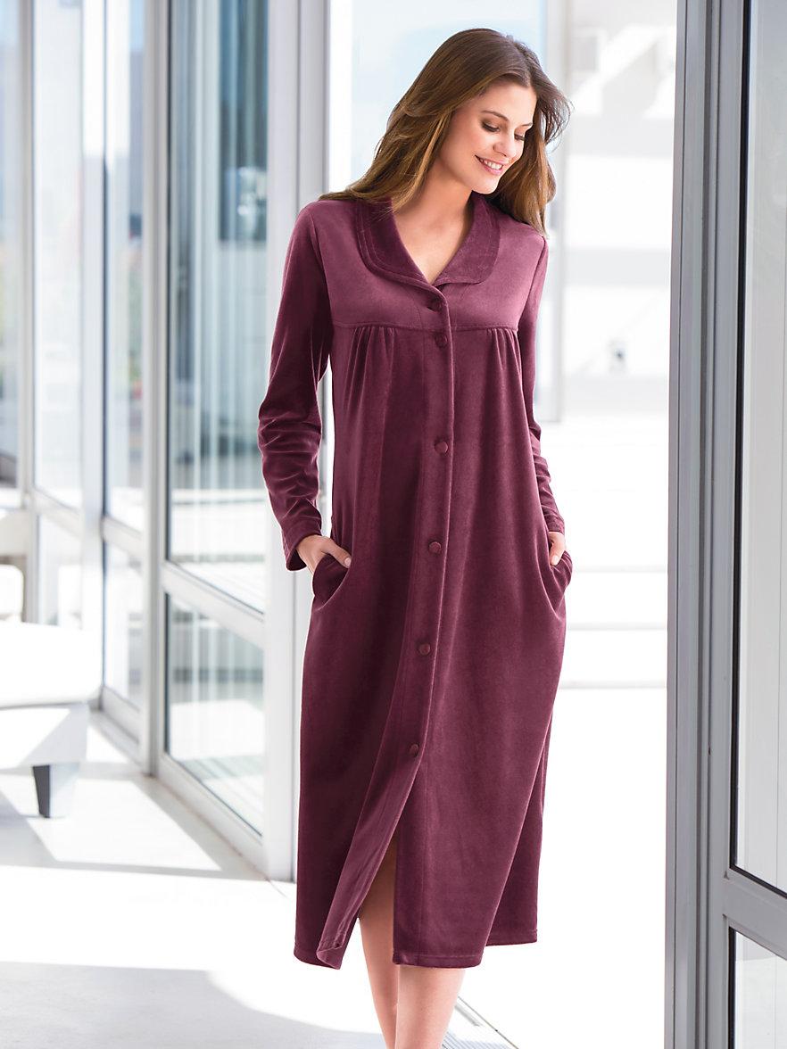 Robe de chambre femme privil giez le confort et la f minit - Robe de chambre canat femme ...